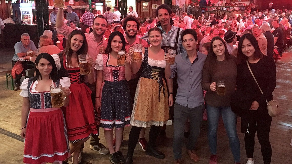 weBuddy Oktoberfest event