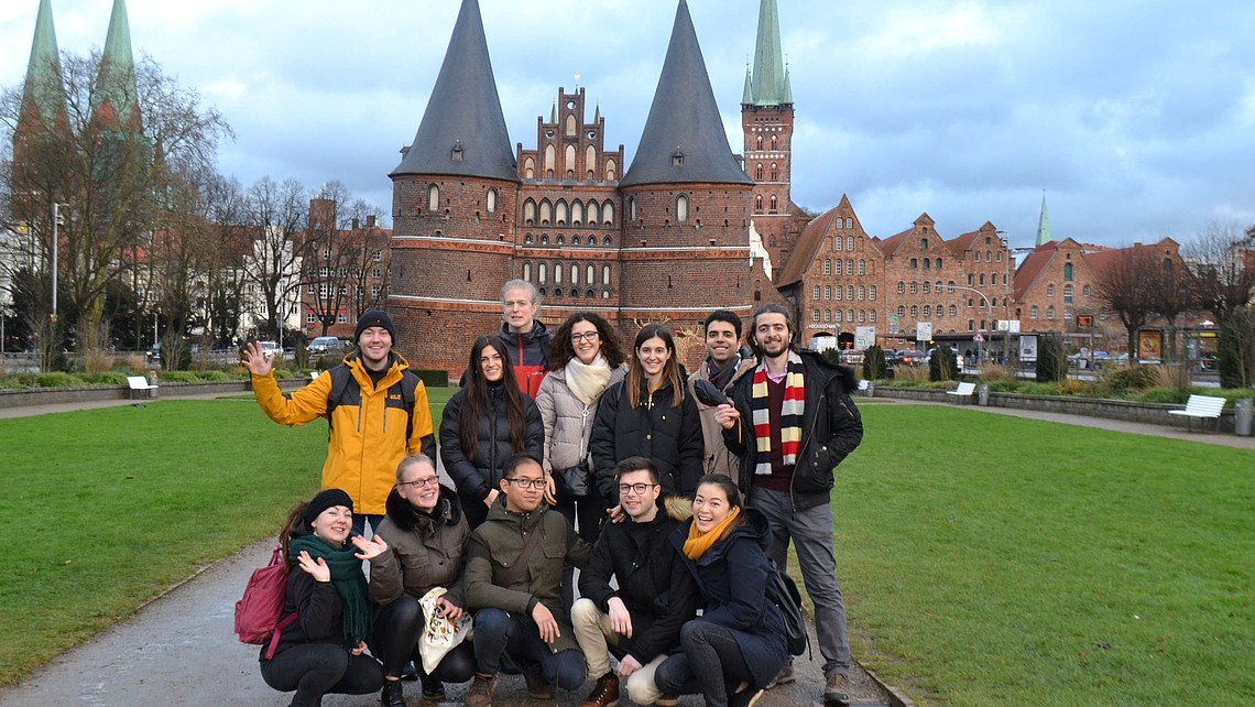 weBuddy field trip to Lübeck